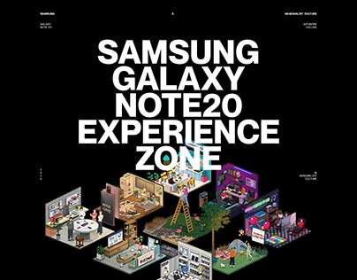 Samsung Galaxy Note20 Experience Zone