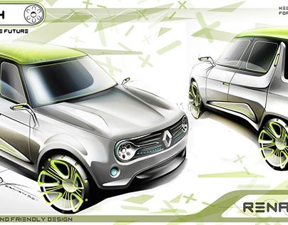 """Renault 4 Ever Competition """"LOOKING THE FUTURE"""""""