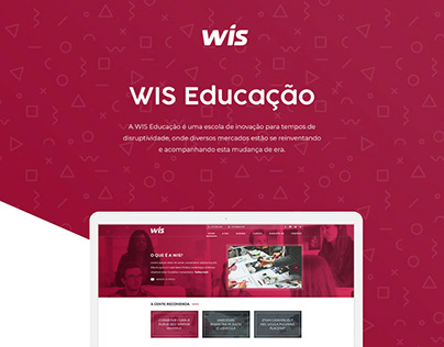 New site - Wis Educação