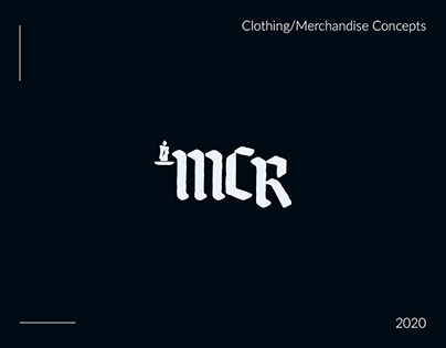 My Chemical Romance - Clothing/Merchandise Concepts
