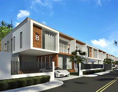 8 UNITS TOWN HOUSE