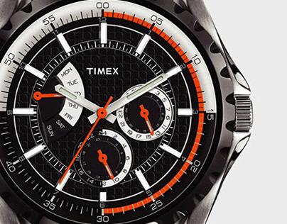 TIMEX retrograde series