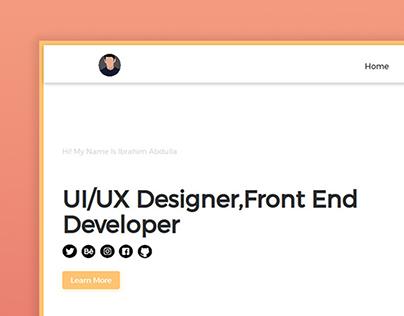Portfolio Website Design