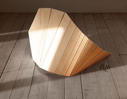 2014: Bending Wood Sculpture Series