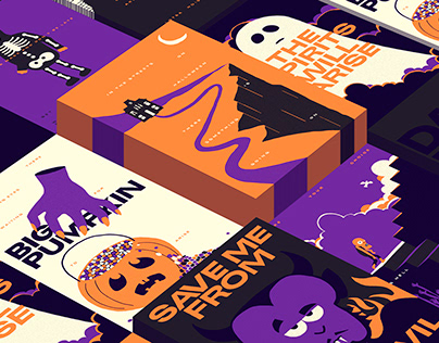 PERSONAL PROJECT | HALLOWEEN POSTERS