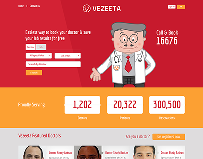 Vezeeta Website