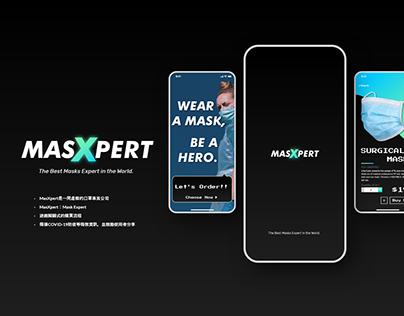 【UI/ Mobile/ Branding】Masxpert Masks Store