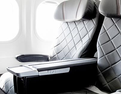 Qantas 717 Cabin