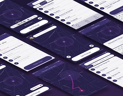 Gett Taxi App - Redesign IOS App
