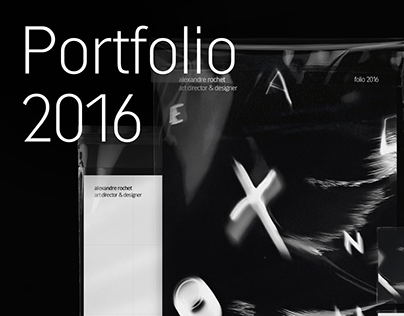 Alexandre Rochet 2016 portfolio