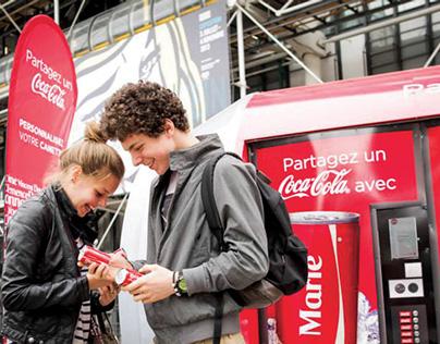 Partagez un Coca-Cola