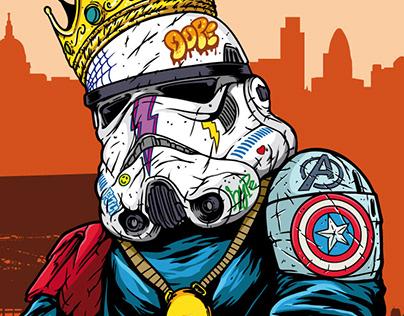 Stormtrooper Hypebeast Fan Art