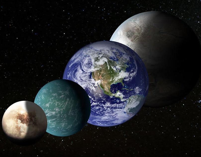фото планет земель утром