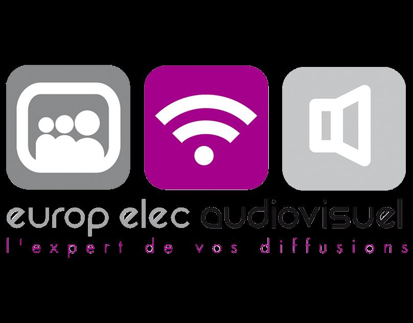 Logo Europ Elec Audiovisuel On Behance