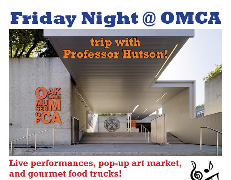 Oakland Museum Trip Flyer