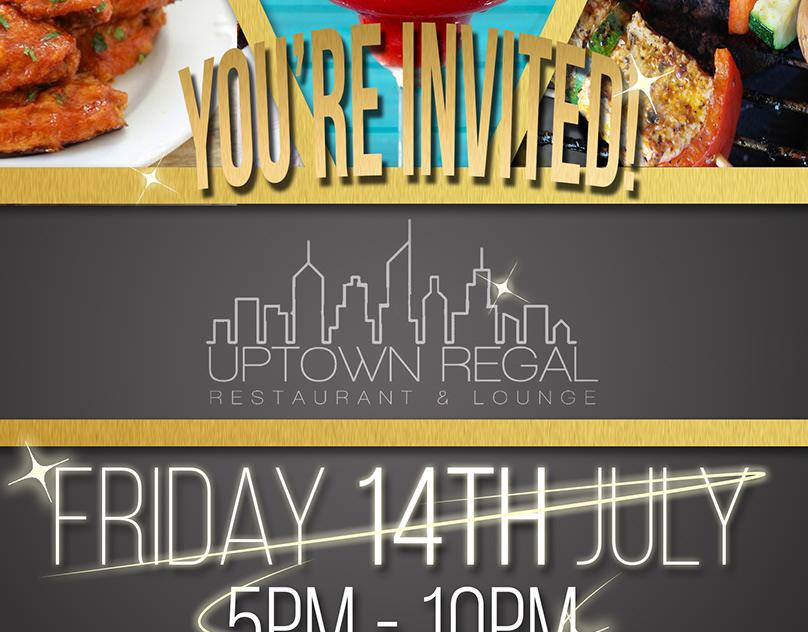 Uptown Regal Promotional Flyer