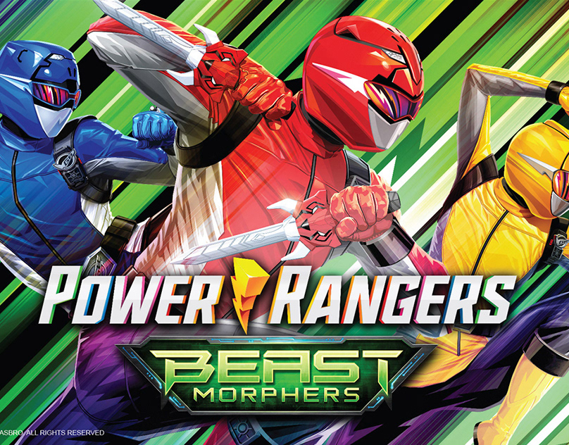 Power Rangers Beast Morphers Core Style Guide