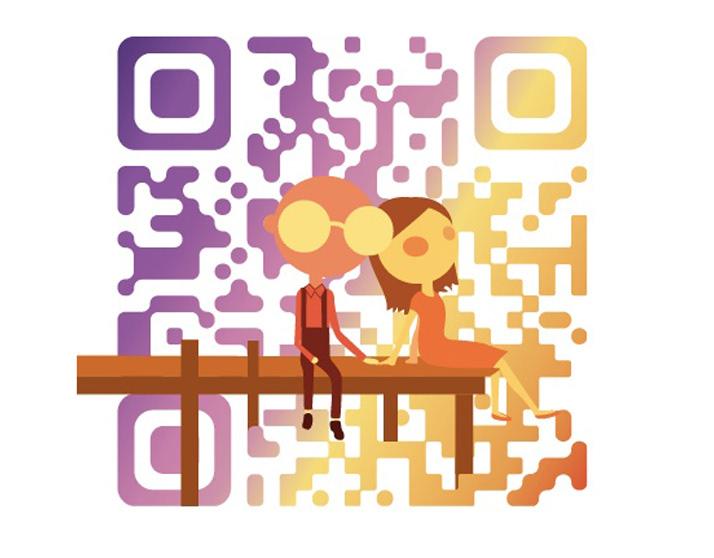 優質的25套QRcode設計欣賞