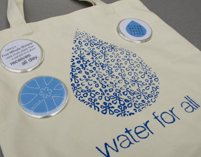 Water for All [tote bag]