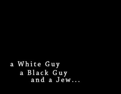 Black guy at night