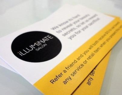 Illuminate Salon Branding