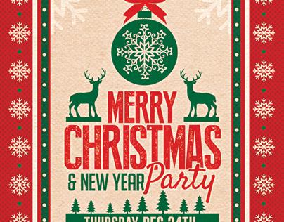 高質感的23套聖誕節海報欣賞