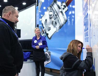 Chevron Lubricants MidAmerica Truck Show Exhibit