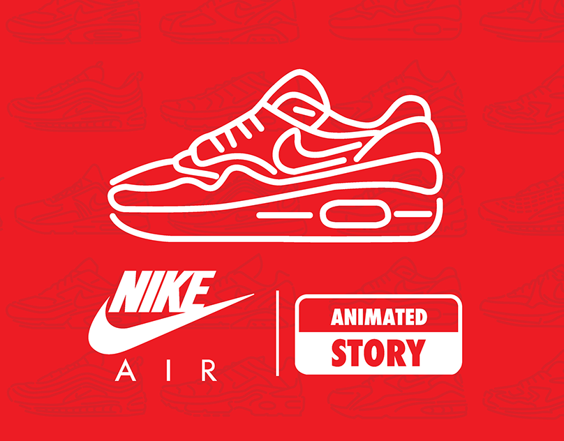 amanecer Proceso Electrizar  NIKE AIR ANIMATED STORY on Behance