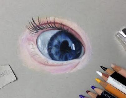 細緻的24個手繪眼睛欣賞