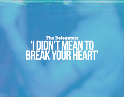 The Delegators I Didnt Mean To Break Your Heart On Behance
