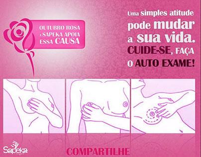 69e11d968 Campanha Sapeka Lingerie - Outubro Rosa on Behance