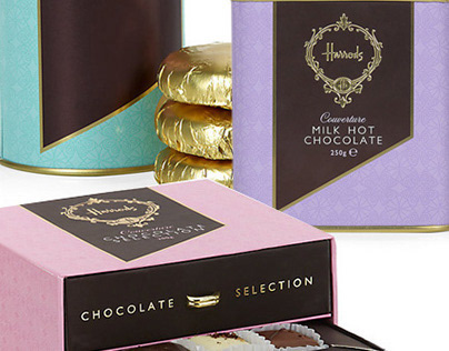 Harrods Couverture Chocolate On Behance