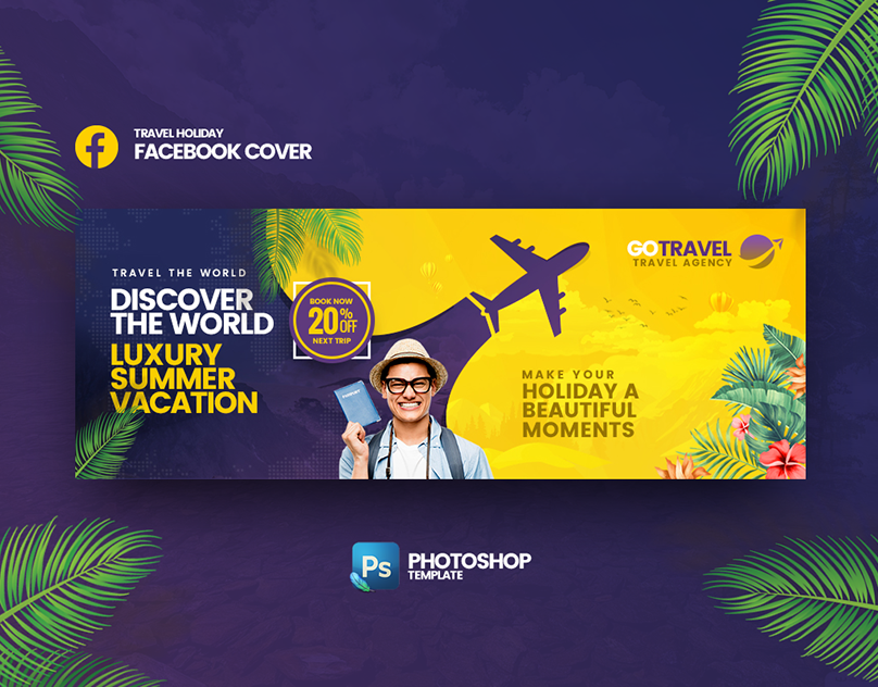 Facebook Cover Banner Template On Behance