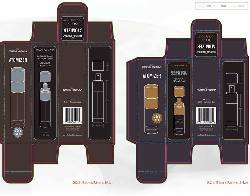 Package Design, Various Series