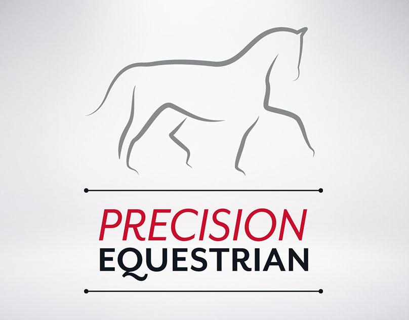 Precision Equestrian Logo Design
