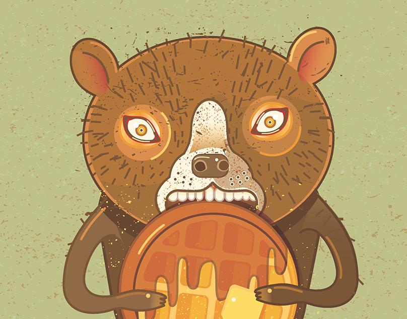 Bear Waffles