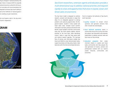 NOAA National Sea Grant Biennial Report to Congress