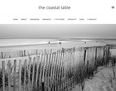 The Coastal Table Magazine + Cookbook Website
