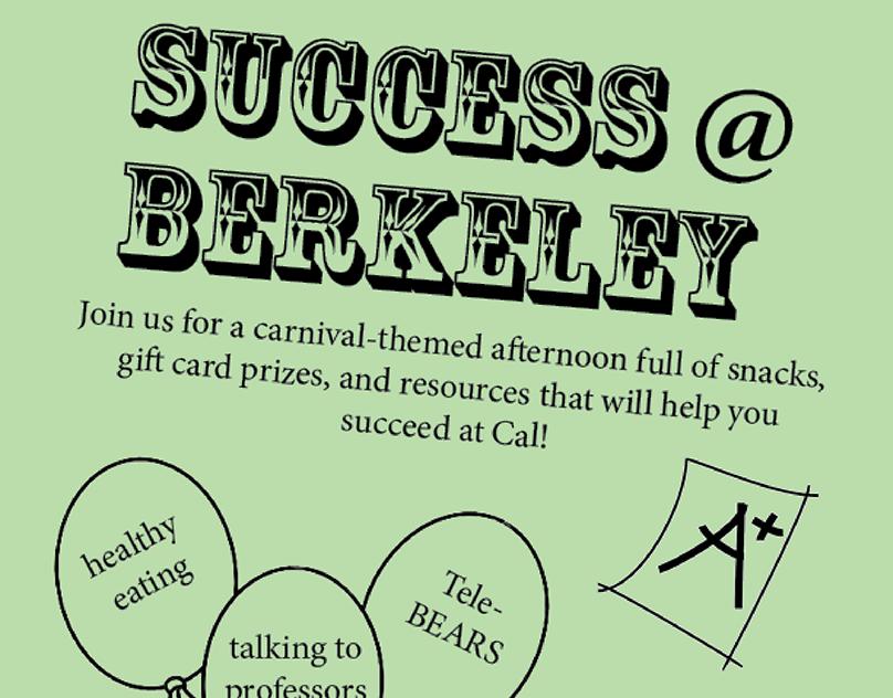 Success@Berkeley Flyer