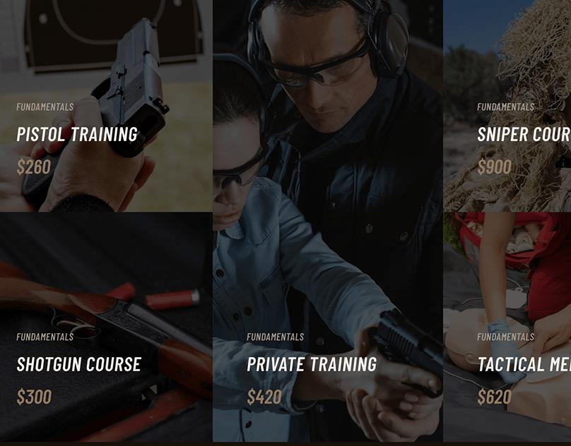 AIM Firearms Training WordPress