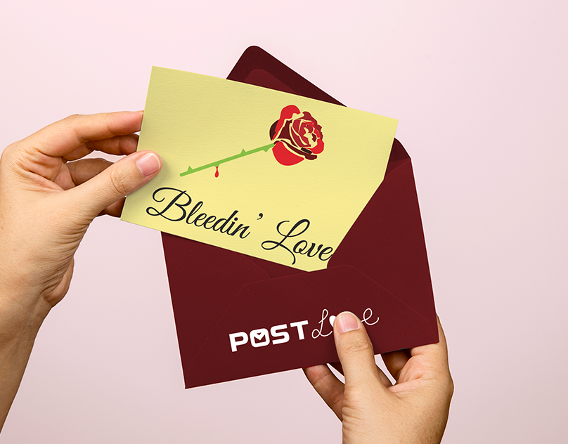 Post Love Post Cards