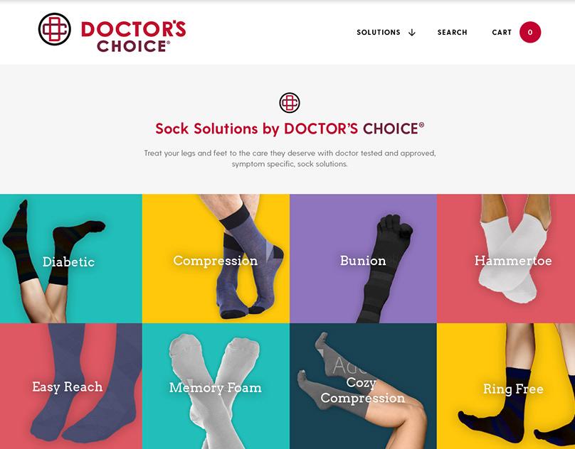 Doctor's Choice Socks Shopify