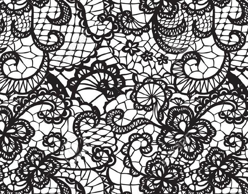 Картинки кружева для срисовки