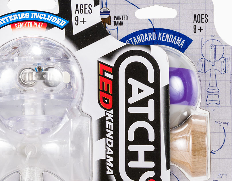 Catchy Product Line Packaging