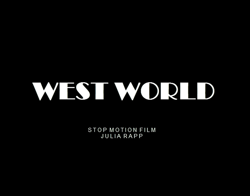 Stop Motion Westworld On Behance