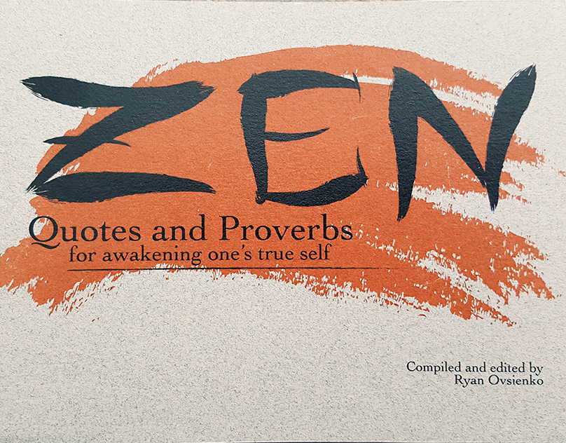 Zen Quotes And Proverbs On Behance