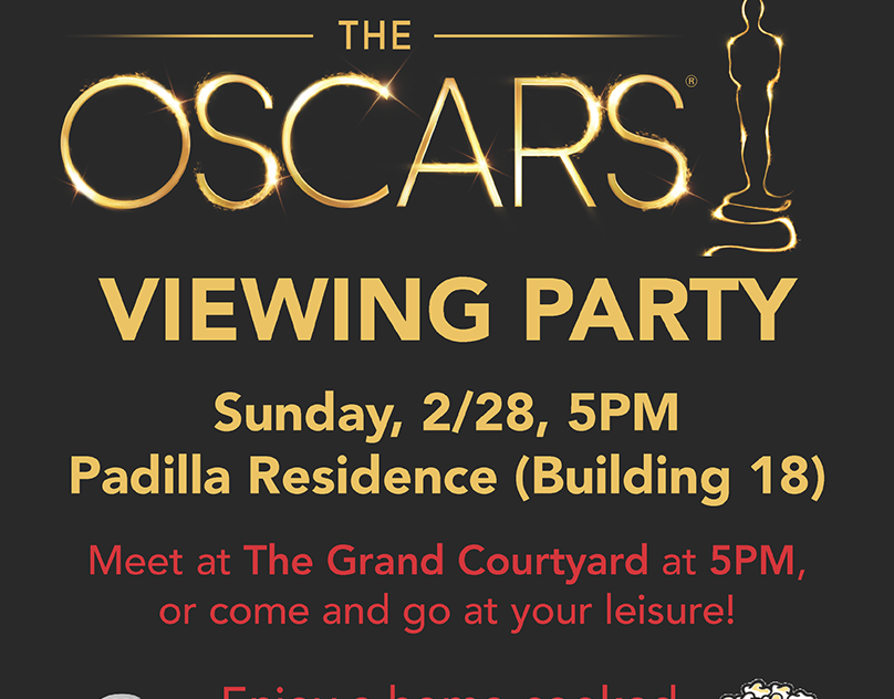 Oscars Viewing Party Flyer