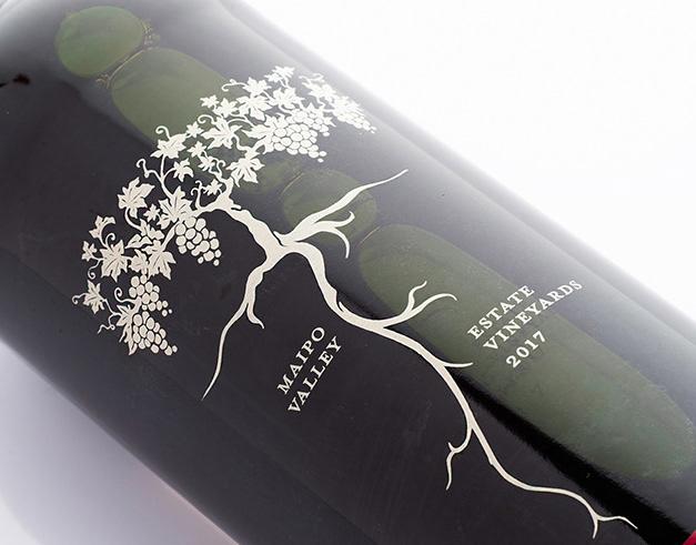 Root:1 Wine Label Illustration