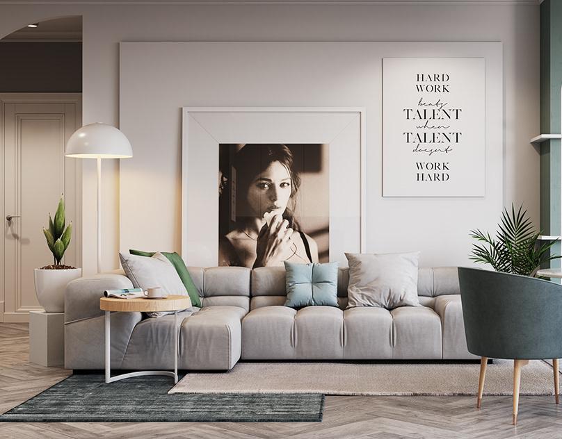 優質的20套客廳主牆顏色欣賞