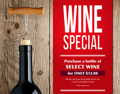 Winner's Circle Wine Special